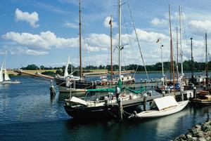 Boote im Museumshafen