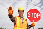 Hinweis Straßensperrung