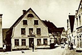 um 1900 Ratskrug Rathausmarkt